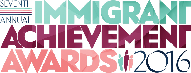 Immigrant Achievement Awards 2016 Logo